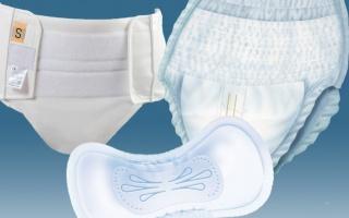 Inkontinenční pomůcky