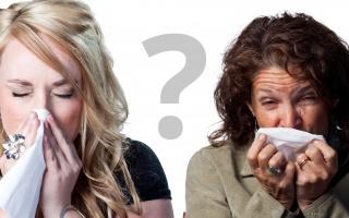 Jak poznám angínu od chřipky?