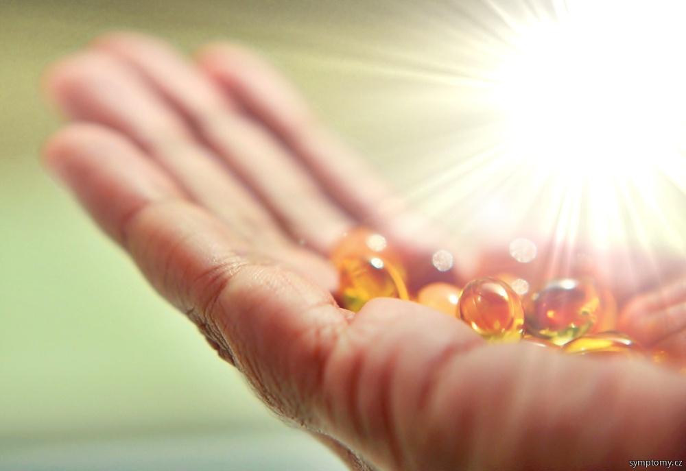 vitamín D ze slunce