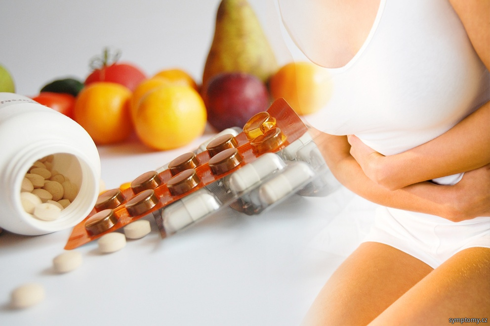 děložní sliznice (endometrium) mimo dělohu