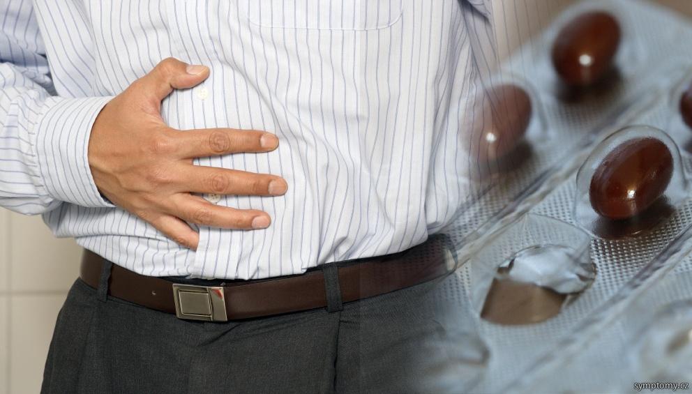 Bolest břicha při neinfekční artritidě - Reakční artropatie