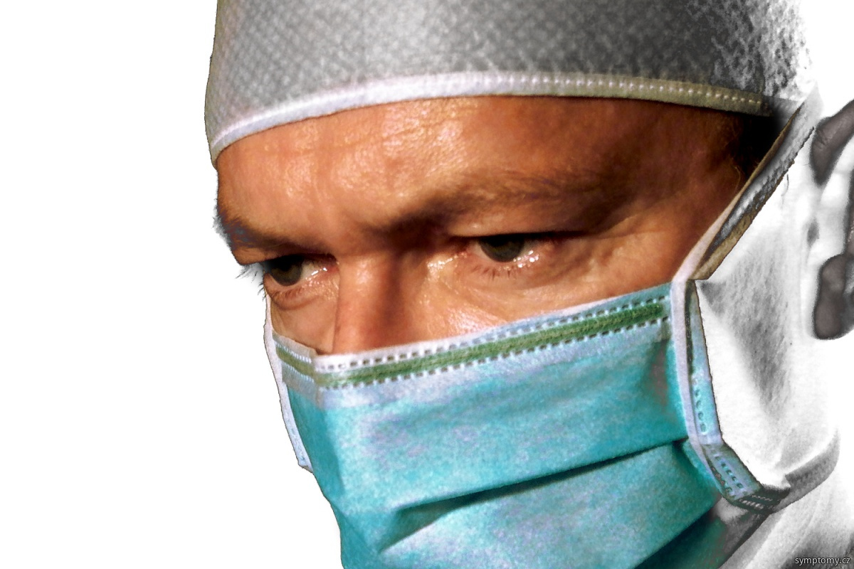 rouška - ochrana před infekcí