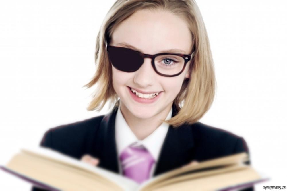 tupozrakost (amblyopie) u dětí