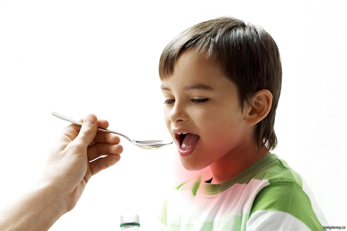 záškrt u dětí
