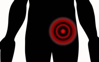 Bolest vlevém podbřišku