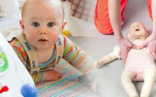 První pomoc u novorozenců a kojenců