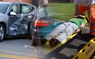 První pomoc při autonehodě