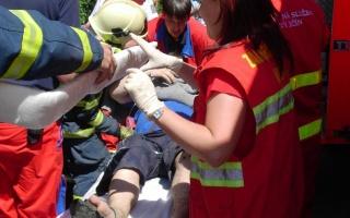 První pomoc při zlomenině