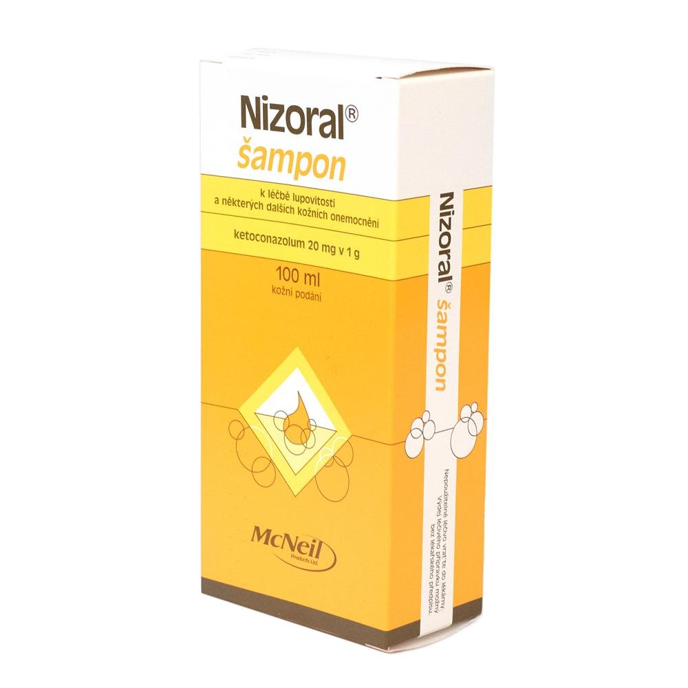 NIZORAL 20MG/G SAT 100ML