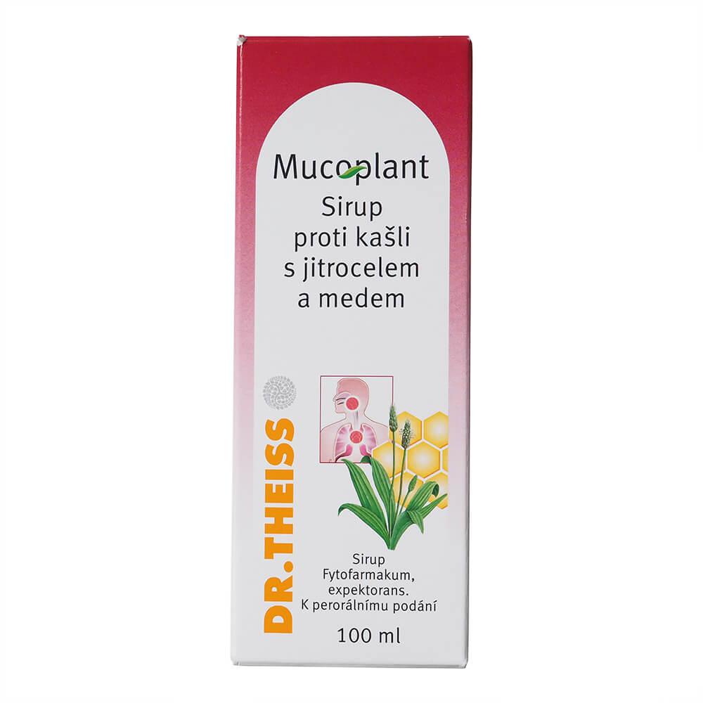 Mucoplant Jitrocelový sirup s medem 100 ml