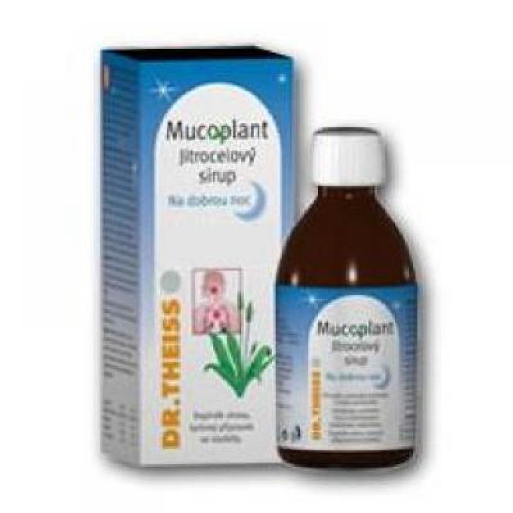 DR. THEISS Mucoplant jitrocelový sirup Na dobrou noc 100 ml
