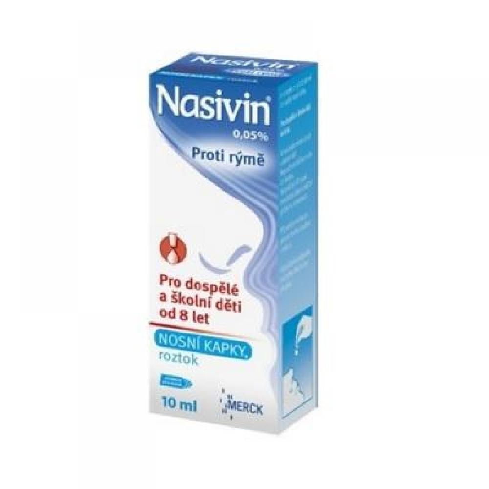 NASIVIN 0,05% nosní kapky 10 ml