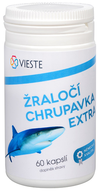 Vieste group Žraločí chrupavka Extra 60 kapslí