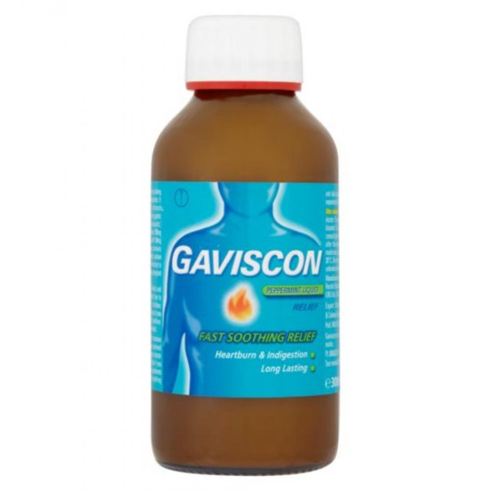 GAVISCON LIQUID PEPPERMINT POR SUS 1X300ML