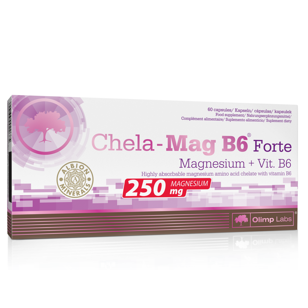 OLIMP Chela-Mag B6 Forte Magnesium+Vit.B6 60 kapslí
