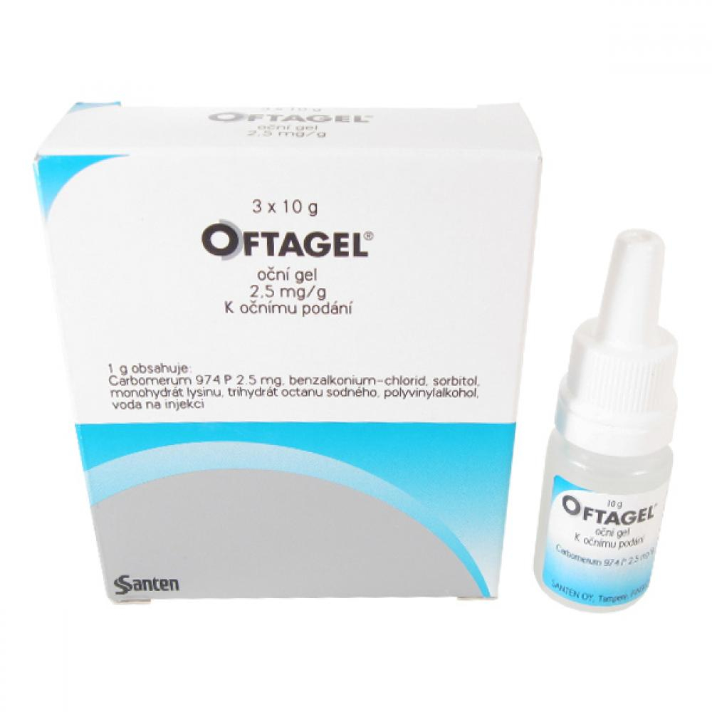 OFTAGEL 2,5MG/G OPH GEL 30G