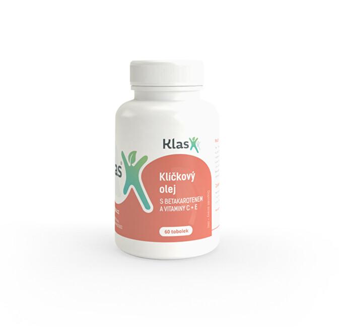 Klas Klíčkový olej s vitamíny A, C, E, 60 tablet