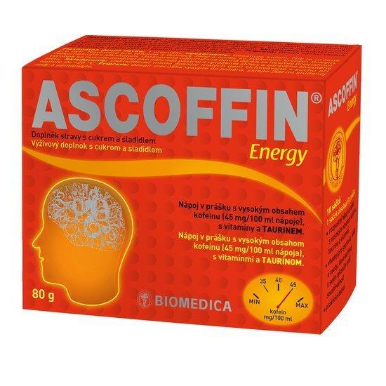 Ascoffin Energy 10 sáčků/8g