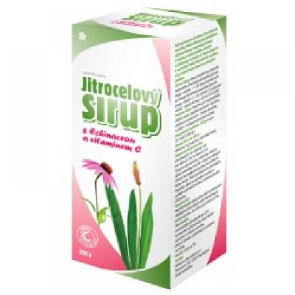 HERBACOS Sirup jitrocelový s echinaceou a vitamínem C 320 g
