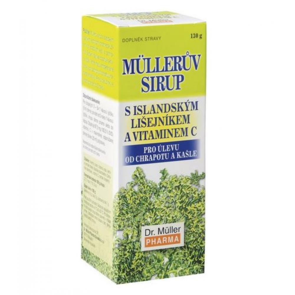 Müllerův sirup s isl lišejníkem a vitaminem C 320g