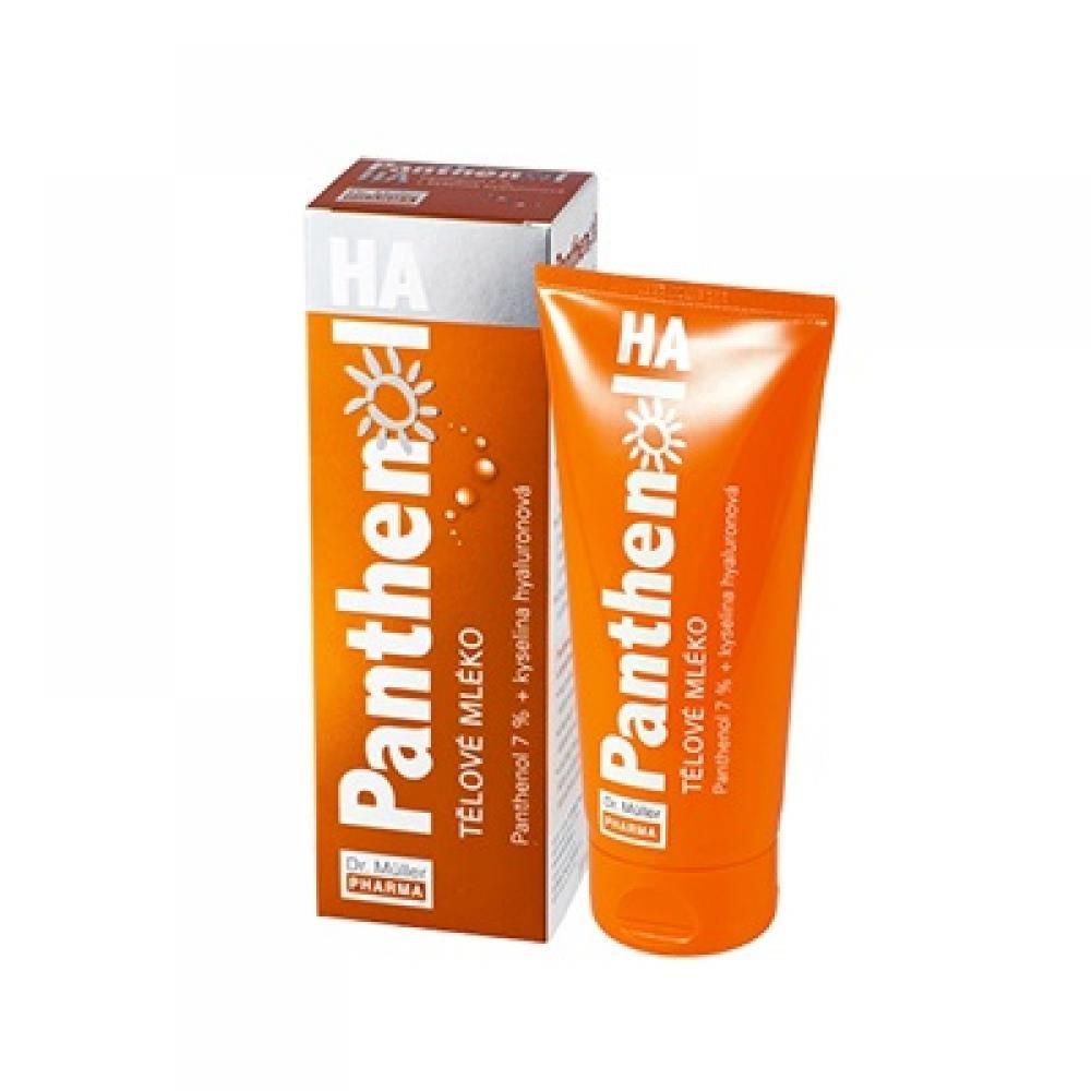 DR. MÜLLER Panthenol HA Tělové mléko 7% 200 ml