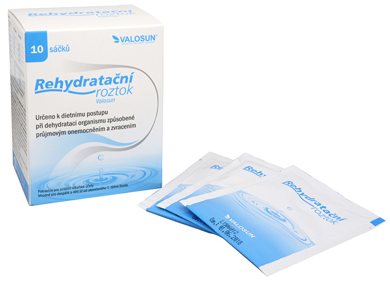 Walmark Rehydratační roztok Valosun 10 sáčků