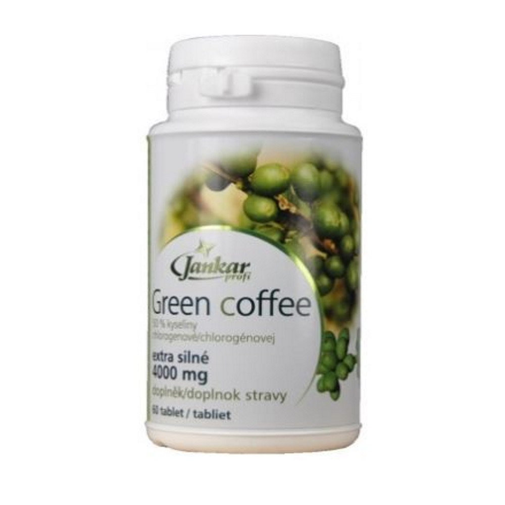 JANKAR PROFI Green coffee extra silná 60 tablet