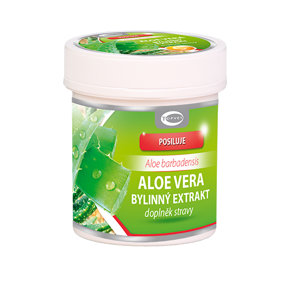 GREEN IDEA Aloe vera bylinný extrakt