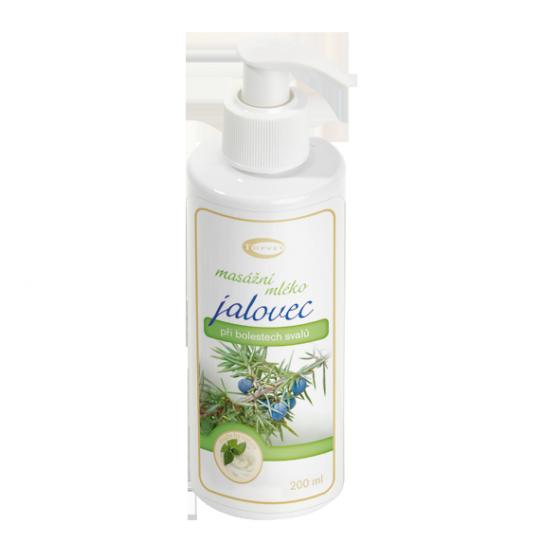 TOPVET Jalovcové masážní mléko 200ml