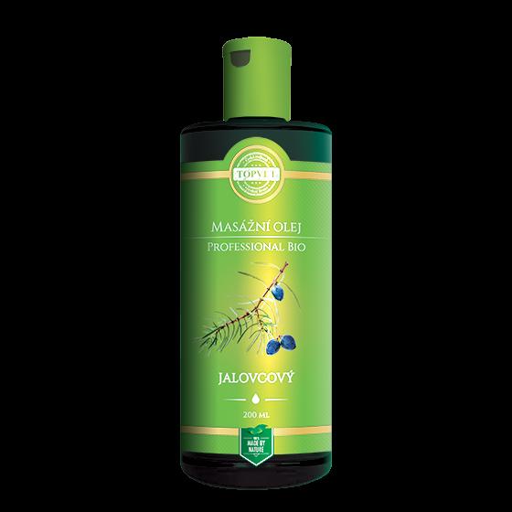 TOPVET BIO Jalovcový masážní olej 200ml