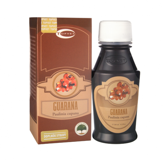 TOPVET Guarana tinktura - kapky 100ml