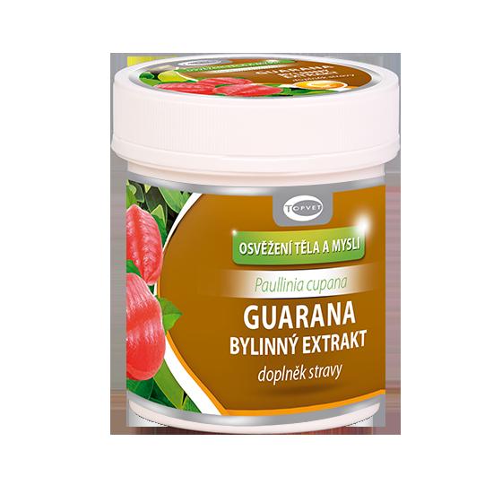 TOPVET Guarana bylinný extrakt