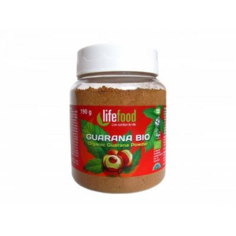 LIFEFOOD Guarana prášek BIO 180 g