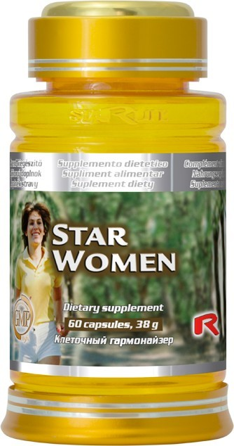 STARLIFE STAR WOMEN 60 kapslí