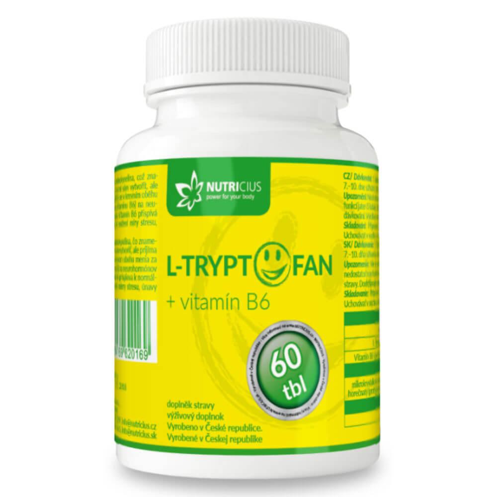 L-Tryptofan + vit. B6 - 200mg/2.5mg tbl.60