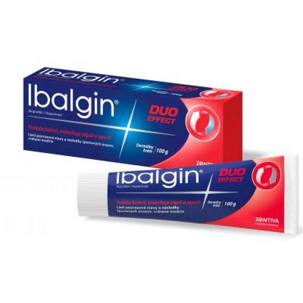 IBALGIN DUO EFFECT 50MG/G+2MG/G CRM 100G