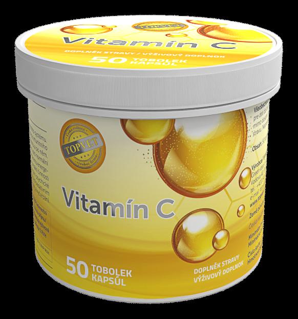TOPVET Vitamín C 50ks