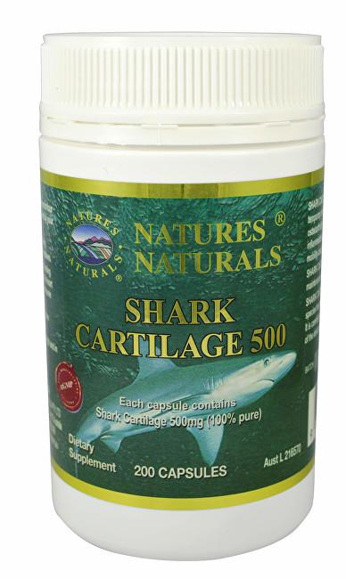 Australian Remedy Shark Cartilage 500 - žraločí chrupavka 200 kapslí