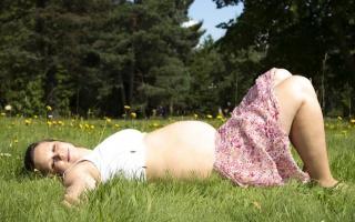 Sedmý měsíc těhotenství