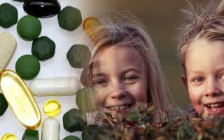 Vitaminy a minerální látky vhodné pro děti