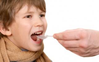 Vlhký kašel u dětí